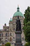Los edificios del parlamento de la Columbia Británica, Victoria, Canadá Fotografía de archivo libre de regalías