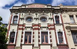 Los edificios del ` s del peluquero Foto de archivo libre de regalías