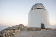 Los edificios del telescopio se cierran Foto de archivo libre de regalías