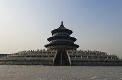 Los edificios eligious Pekín China del templo del Templo del Cielo Tiantan Daoist Imagen de archivo libre de regalías