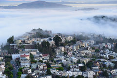 Los edificios en San Francisco Imagen de archivo