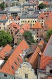 Los edificios históricos en Torun (Polonia) Foto de archivo