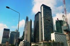 Los edificios modernos suben en capital tailandesa fotografía de archivo