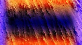 Los efectos anaranjados violetas púrpuras del color sombrearon el papel pintado del fondo de la textura del cemento Ejemplo vivo  foto de archivo