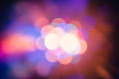 Los efectos especiales de la luz del club del disco del color y el laser muestran fotografía de archivo libre de regalías