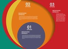 Los elementos del diseño de INFOGRAPHICS vector el ejemplo Imagen de archivo libre de regalías