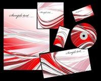 Los elementos del estilo de marcado en caliente corporativo Imágenes de archivo libres de regalías