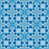Los elementos inconsútiles ornamentales del arabesque del damasco del modelo texturizan vagos Fotografía de archivo