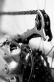 Los engranajes bike A Foto de archivo libre de regalías
