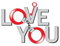 Los enlaces del amor ilustración del vector