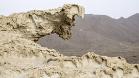 Los escullos, cabo de gata, andalusia, spain, europe, rock formation Royalty Free Stock Image