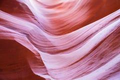 Los espirales del barranco más bajo del antílope Imagen de archivo libre de regalías