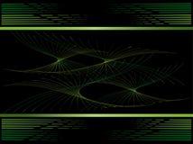 Los espirales verdes son un fondo. Fotografía de archivo libre de regalías