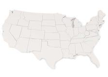 Los Estados Unidos de América Imagen de archivo libre de regalías