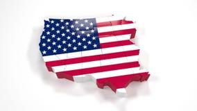 Los Estados Unidos de América los E.E.U.U., estado Utah 34 libre illustration