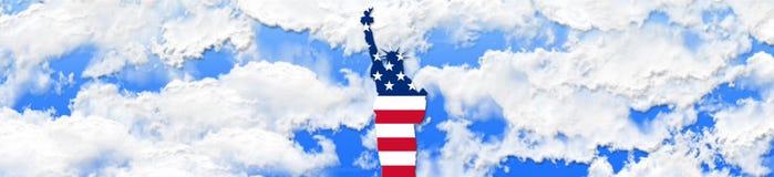 Los Estados Unidos de América el 4 de julio, concepto del Día de la Independencia fotos de archivo
