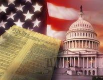 Los Estados Unidos de América - Washington DC Fotografía de archivo libre de regalías
