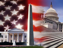 Los Estados Unidos de América - Washington DC Imagen de archivo libre de regalías