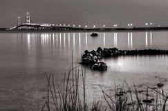 Los estrechos de Mackinac imagenes de archivo