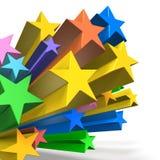 Los estrella del pop son representación del lindo. Imágenes de archivo libres de regalías