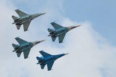 Los Falcons de Rusia Fotografía de archivo libre de regalías