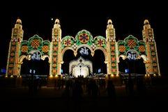 Los festivales colombinos Foto de archivo libre de regalías