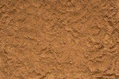 Los fondos texturizados están fuera de la arena, primer de la tierra, s amarillo foto de archivo libre de regalías