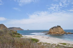 Los frailes beach Royalty Free Stock Photography