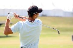 Los franceses del golf de Martin Kaymer (GER) abren 2009 Imagenes de archivo