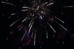 Los fuegos artificiales de la Noche Vieja