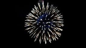 Los fuegos artificiales, Starburst, estallan fotografía de archivo libre de regalías