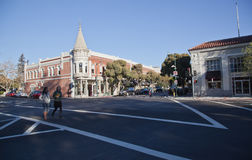 Los Gatos Downtown Royalty Free Stock Photography
