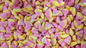 Los gekleurd suikergoed stock fotografie