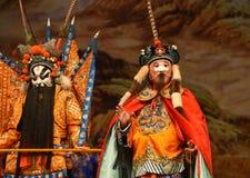 """Los generales militares enemigos de las mujeres de Pekín Opera"""" del consejero del  del € de Yang Familyâ Imágenes de archivo libres de regalías"""