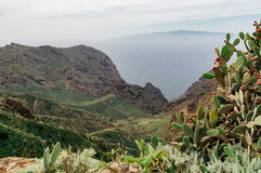 Los Gigantes bergen, Tenerife Stock Afbeeldingen