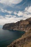 Los Gigantes cliff. Tenerife, Spain Royalty Free Stock Photos