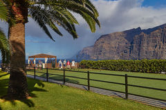 Los Gigantes Cliff, Canary Islands, Tenerife, Spain Royalty Free Stock Image
