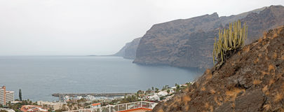 Los Gigantes Cliff Stock Images
