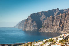 Los Gigantes Cliff in Tenerife, Canary Islands Stock Photo