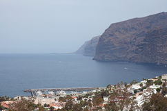 Los Gigantes Cliff Stock Photo