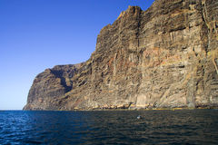 Los Gigantes Cliffs Stock Image