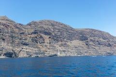 Los Gigantes em Tenerife, Ilhas Canárias fotografia de stock royalty free