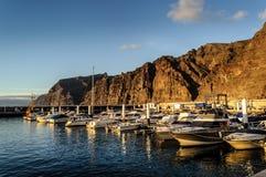 Los Gigantes em Tenerife, Ilhas Can?rias, Espanha imagens de stock royalty free