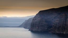 Los Gigantes em Tenerife, Ilhas Can?rias, Espanha imagens de stock