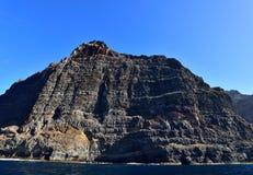 Los gigantes góry, Tenerife, Hiszpania Obrazy Royalty Free