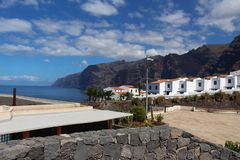 Los gigantes landscape View Mountains royalty free stock photography