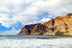 Los Gigantes mountains rock on Tenerife, Canary Islands Spain Stock Photo