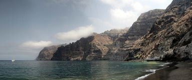 Los Gigantes Panorama Royalty-vrije Stock Afbeelding