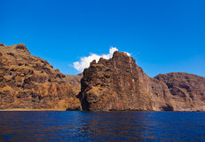 Los Gigantes rock at Tenerife island - Canary Royalty Free Stock Image