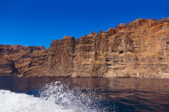 Los Gigantes rock at Tenerife island - Canary Stock Image